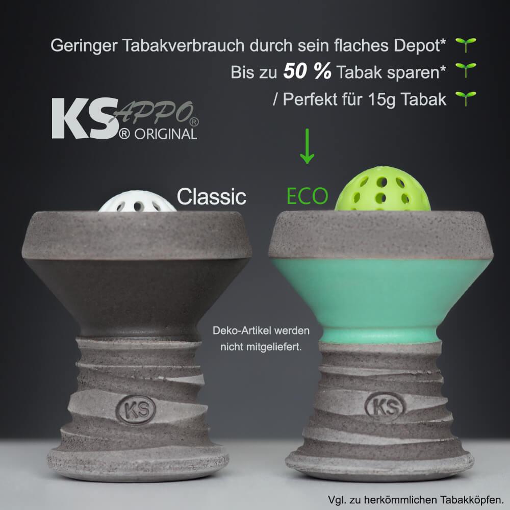 KS APPO Eco Steinkopf | Turquoise
