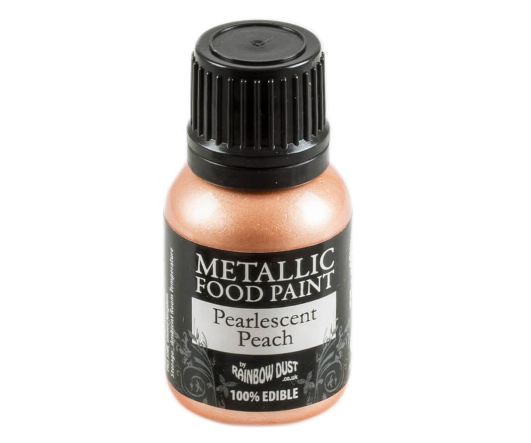 Rainbow Dust Metallic Farbe - Pearlescent Peach