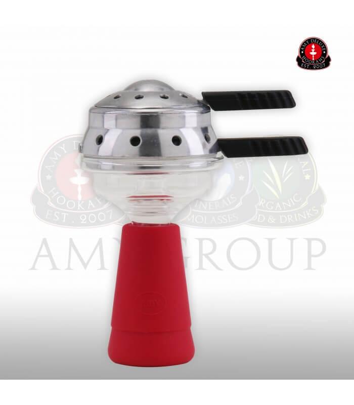 Amy Deluxe GlasSi Set mit Heatmanagement - Rot