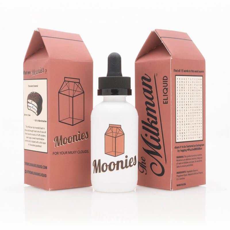 The Milkman - Moonies 50ml - 0 mg/ml