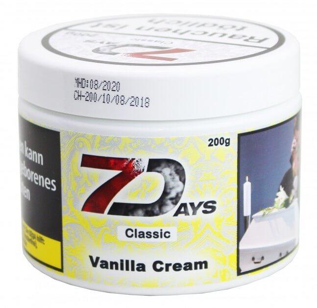 7 Days Tabak - Vanilla Cream Classic 200g