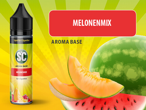 SC Vape Base - Melonenmix 50ml - 0mg/ml