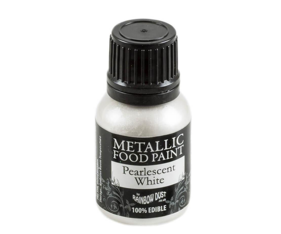 Rainbow Dust Metallic Farbe - Pearlescent White