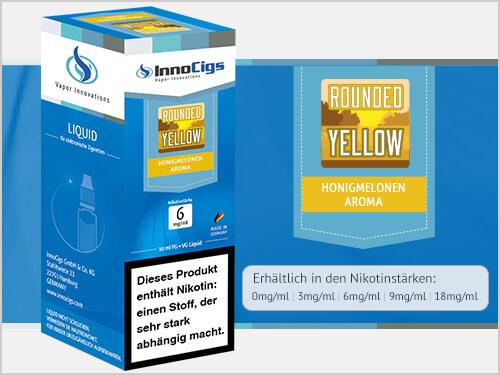 Innocigs Liquid - Rounded Yellow Honigmelonen Aroma - 0 mg