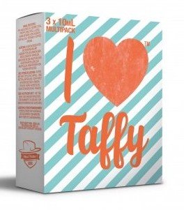I Love Taffy (3x10ml) - Mad Hatter Liquid - 0mg/ml