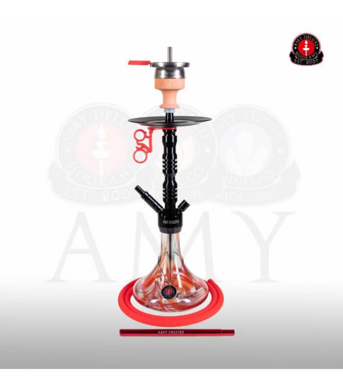 Amy Alu Sierra Klick S 073 (RS Schwarz / Farbe Rot)