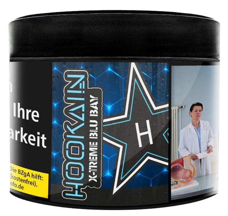 Hookain Tabak X-Treme Blu Bay 200g