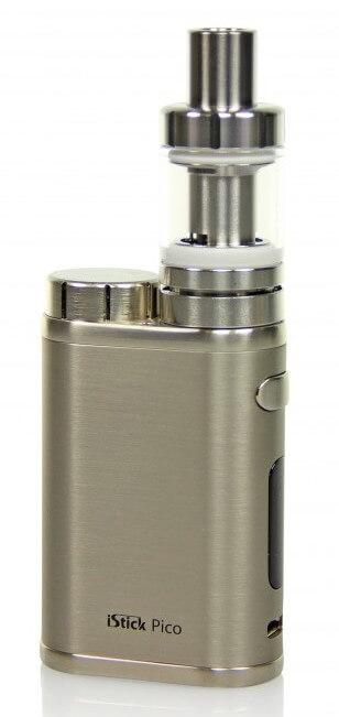 SC iStick Pico E-Zigaretten Set - gebürstetes Silber