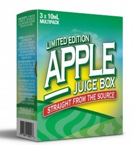 Apple Juice Box (3x10ml) - Mad Hatter Liquid - 6mg/ml