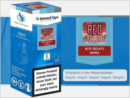 Innocigs Liquid - Red Cyclone Rote Früchte Aroma - 0 mg/ml