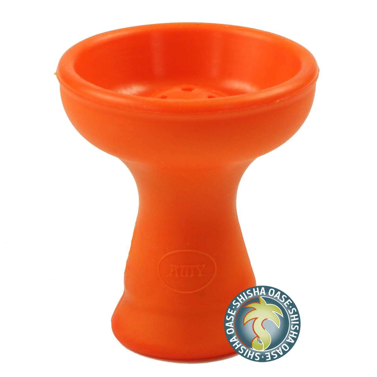 Amy Hot Screen Big XL - Silikontabakkopf (orange)