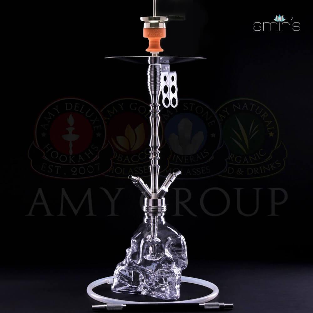 AMIR`S 302 3D Skull - 87cm (Transparent)