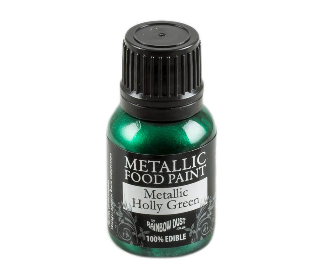 Rainbow Dust Metallic Farbe - Holly Green