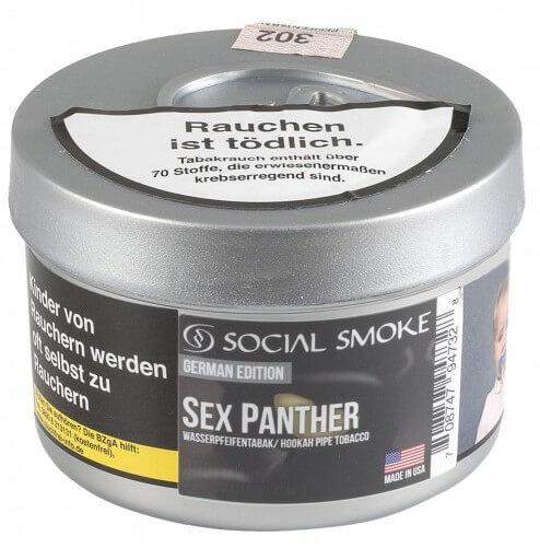 Social Smoke Tabak Sex Panther 250g Dose