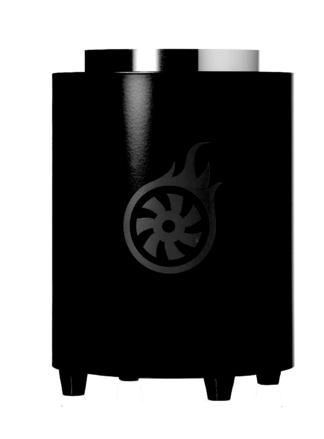 Shisha-Turbine NeXT Kohleanzünder - Black #NoRacism