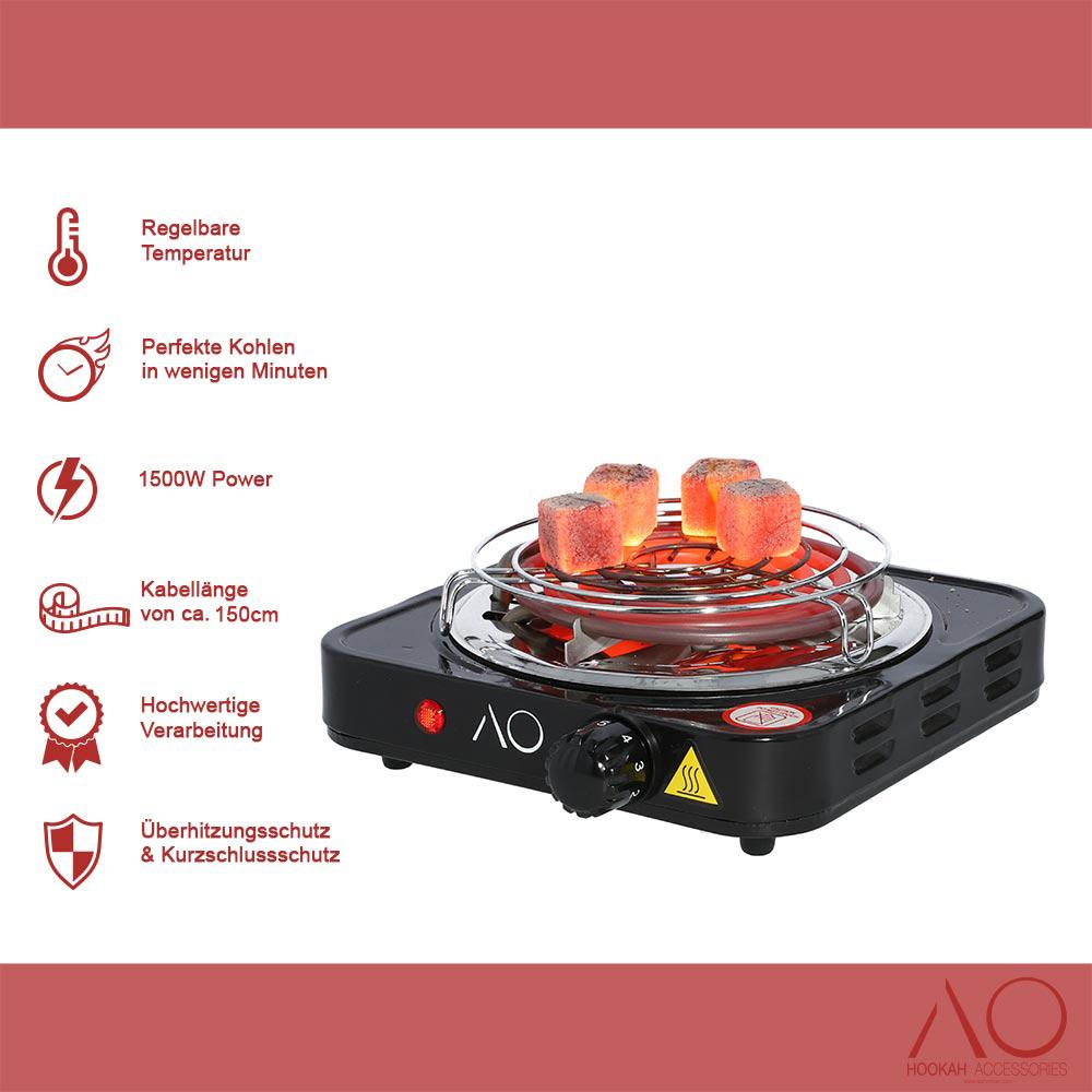 AO Blazer X 1500W Kohleanzünder   elektrisch