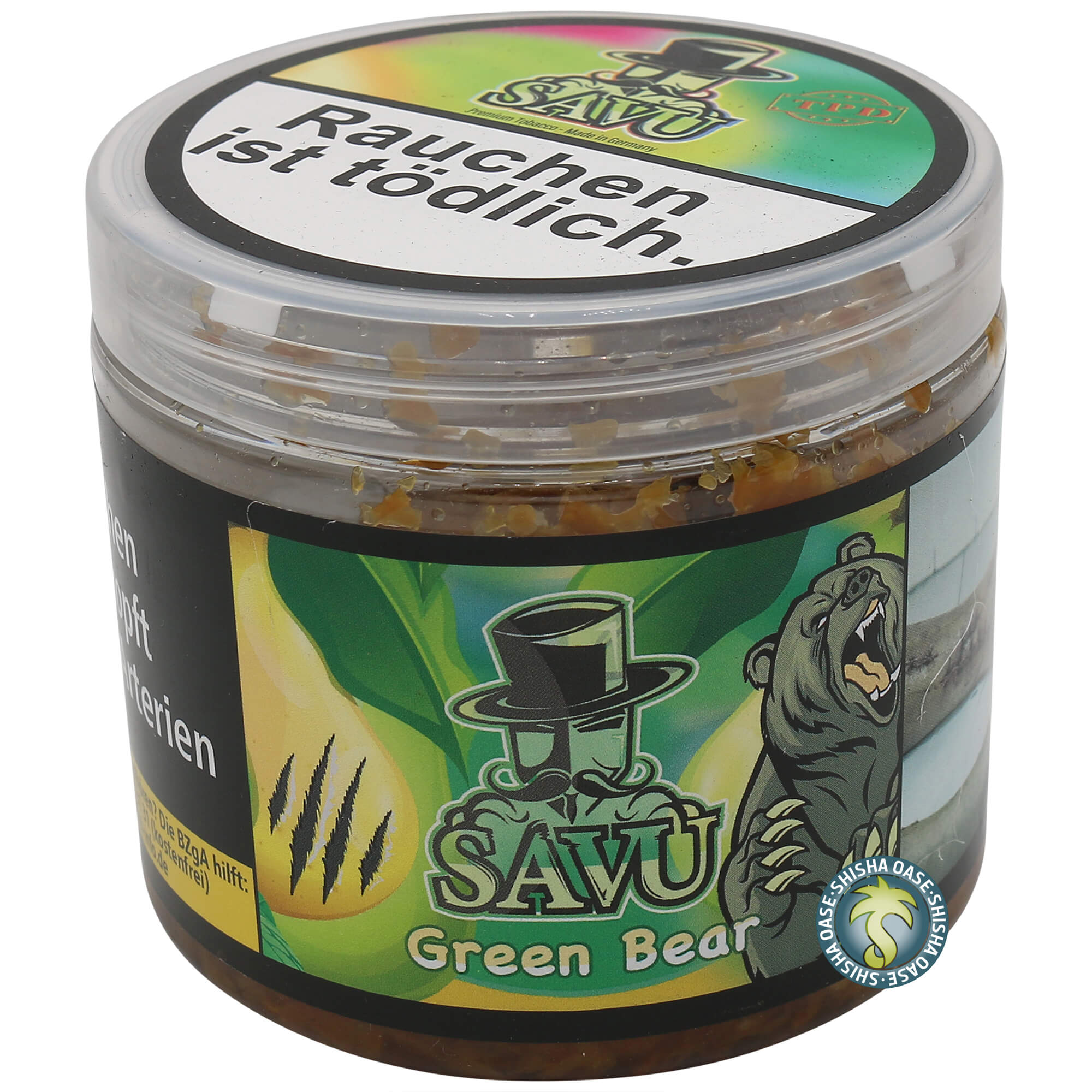 Savu Tobacco Green Bear 200g
