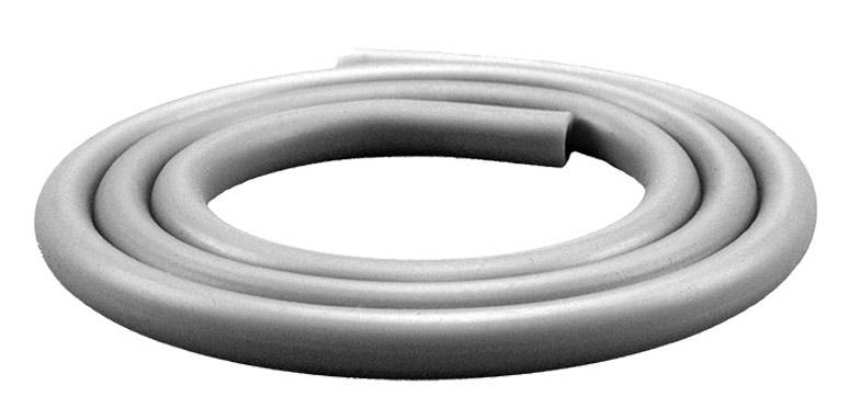 Silikonschlauch Soft Touch Matt (Silber)