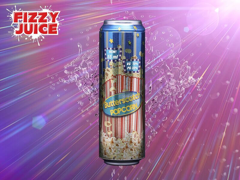Fizzy Juice - Cream - Butterscotch Popcorn - 55ml - 0mg/ml