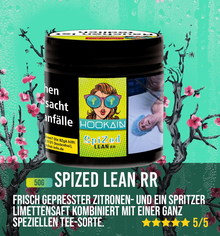 Hookain Tabak Spized Lean RR 50g