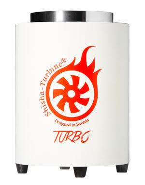 Shisha-Turbine Kohleanzünder - White Edition - Turbo Anzünder