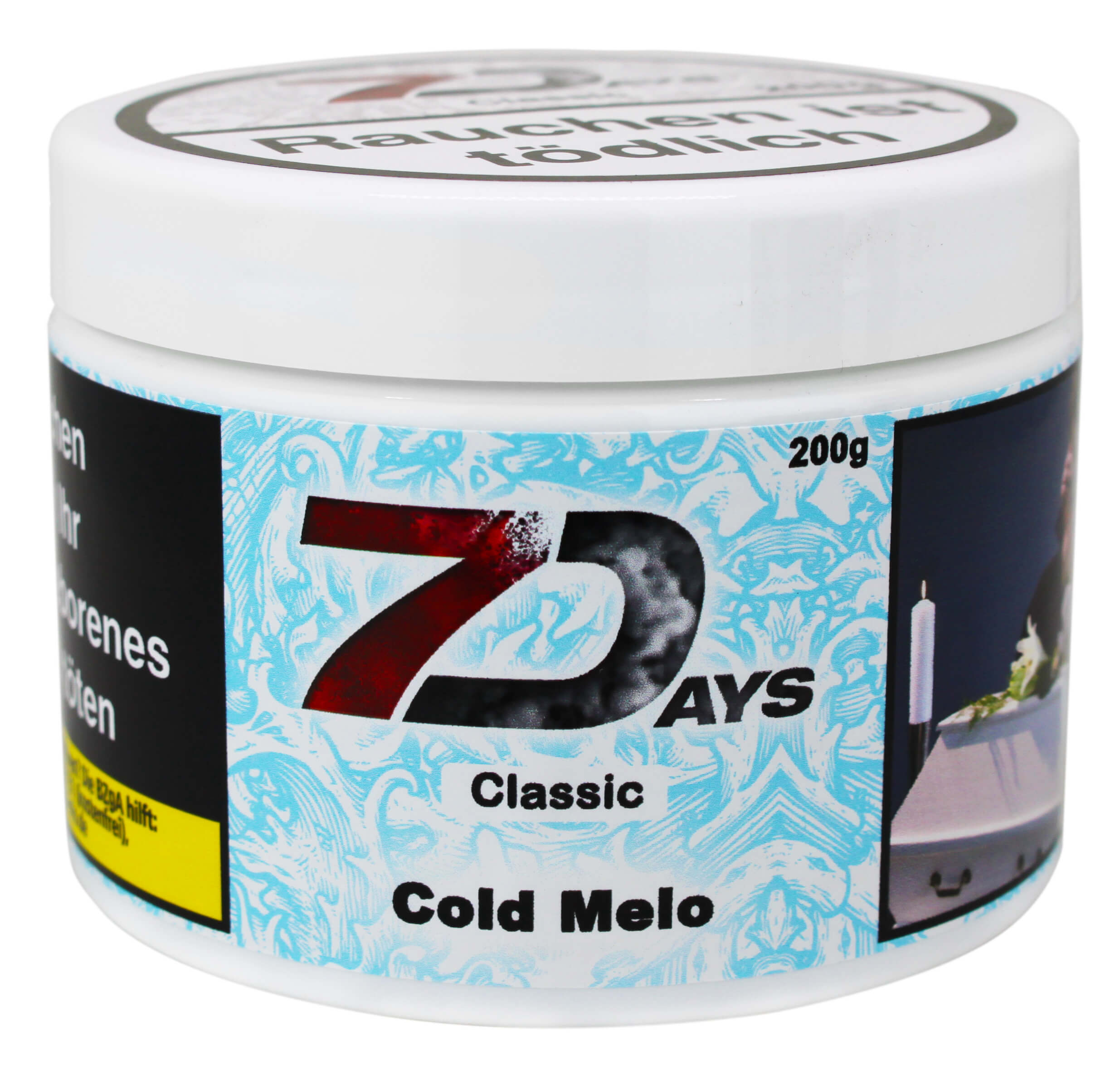 7 Days Tabak - Cold Melo Classic 200g