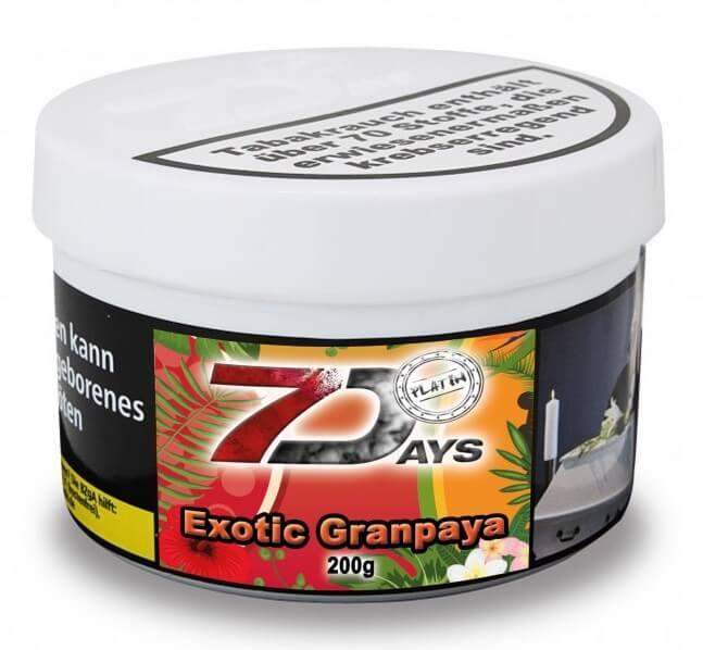7 Days Platin Tabak - Exotic Granpaya 200g