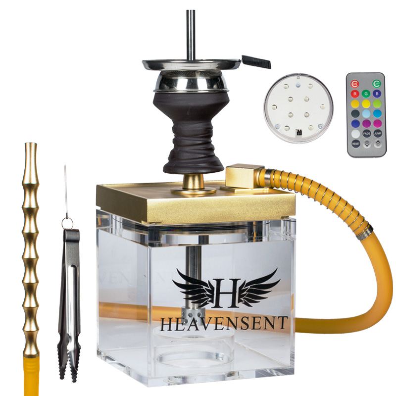 Heavensent Shisha Cube 3.0 (Gold)