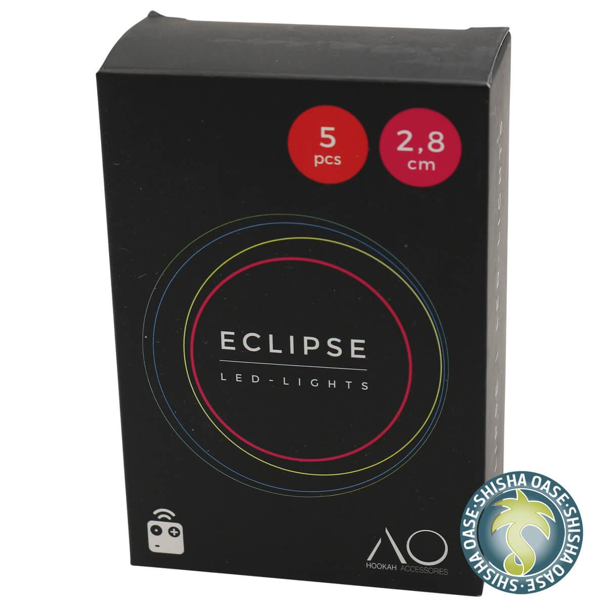Eclipse LED Mini Color mit Fernbedienung (5 Stück)