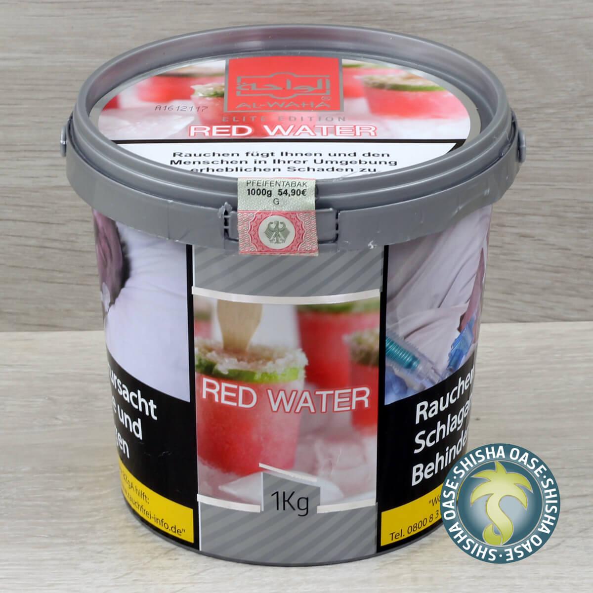 Al Waha Red Water 1kg Eimer - rauchfertig