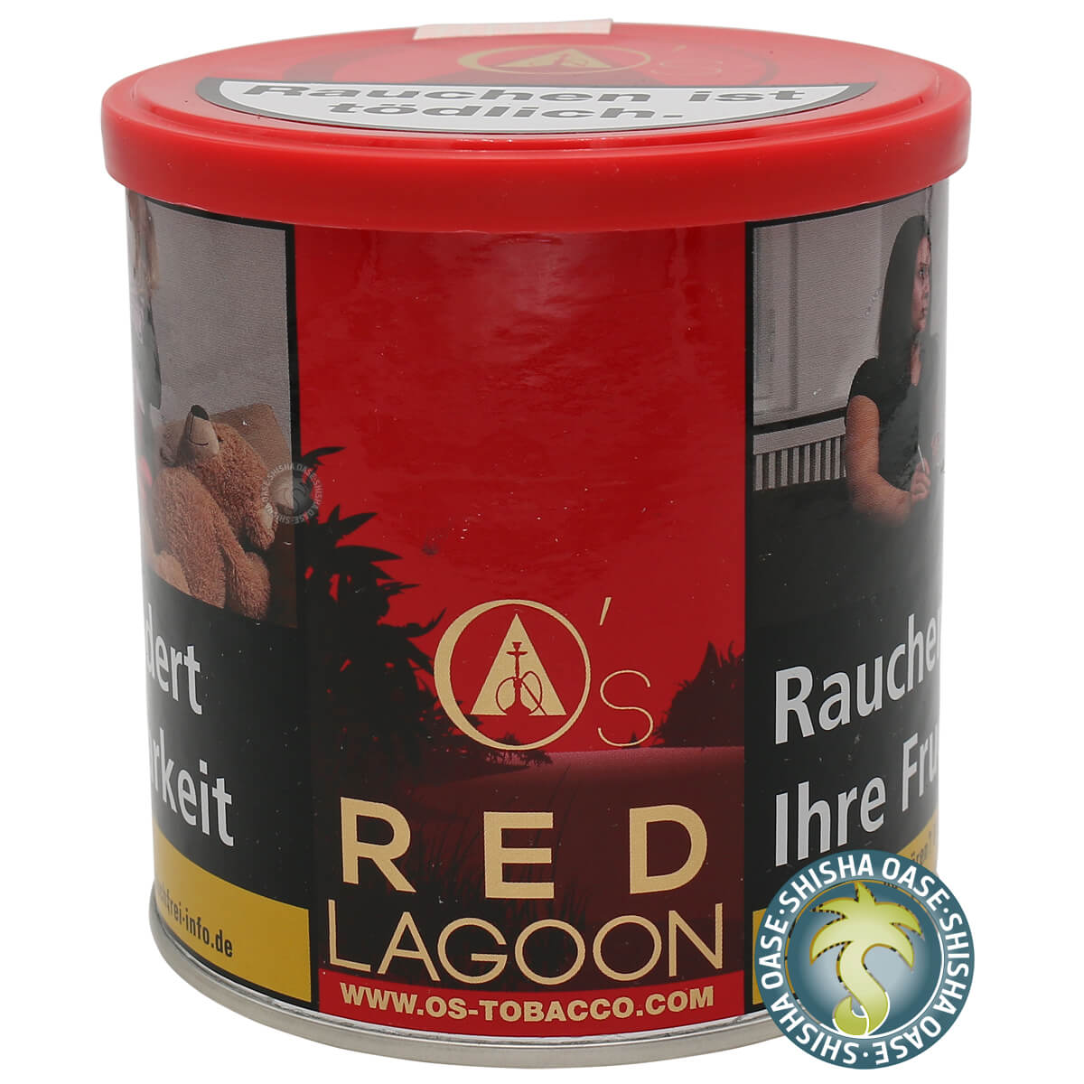 Os Tabak Red Line Red Lagoon 200g