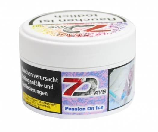 7 Days Classic Tabak - Passion on Ice 50g