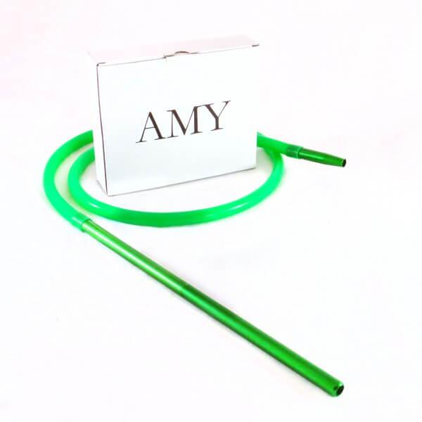 Amy Deluxe Schlauchset mit Alumundstück Grün