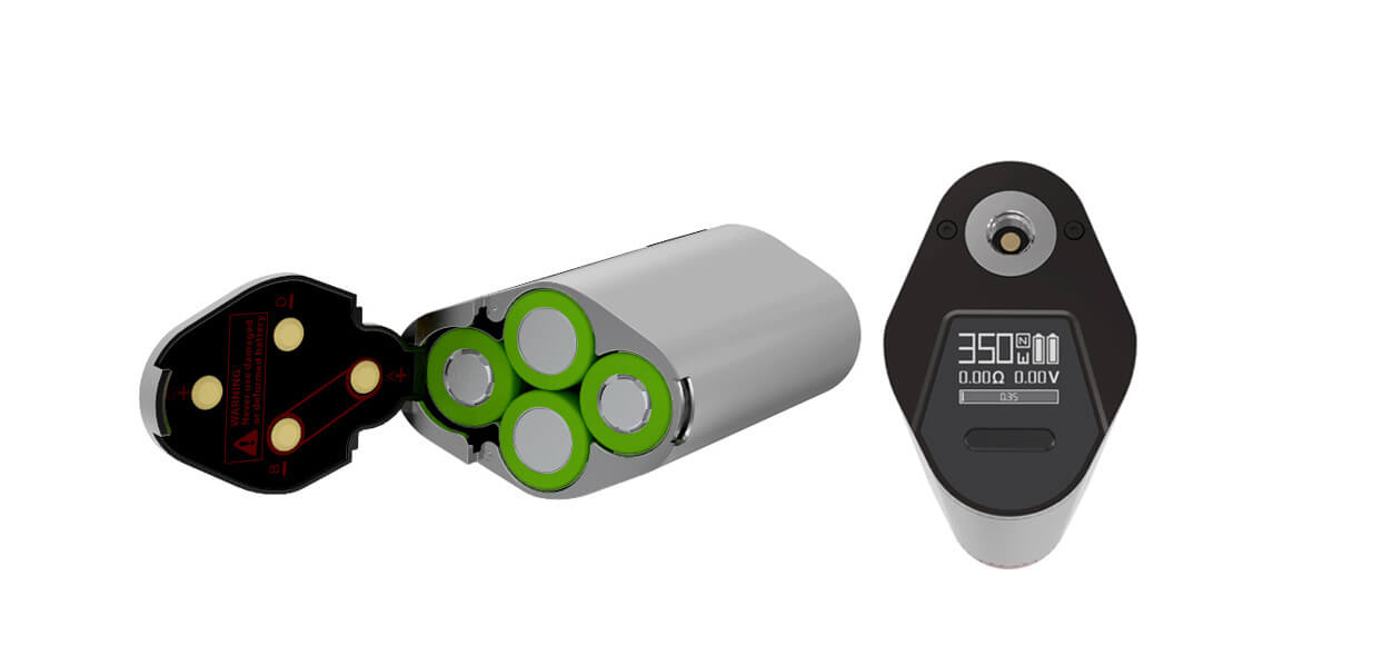 Steamax GX350 E-Zigaretten Set - Lila-Schwarz
