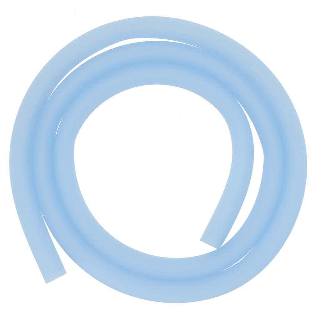 Silikonschlauch Soft Touch Matt (Glow Blau)
