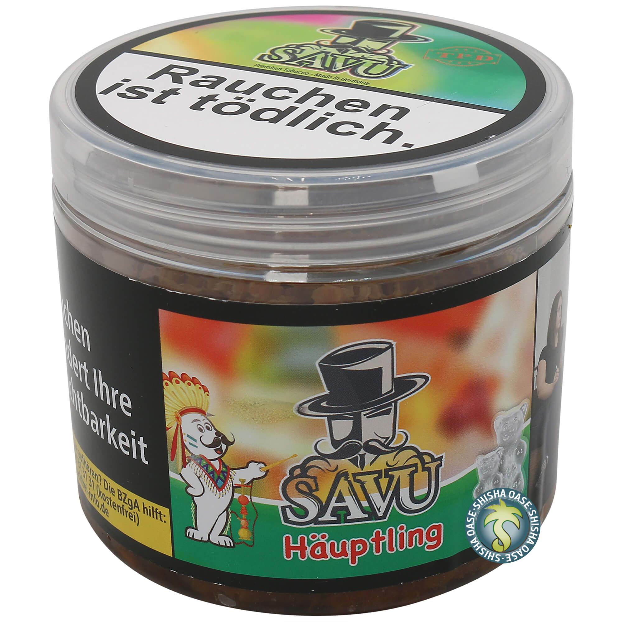 Savu Tobacco Häuptling 200g