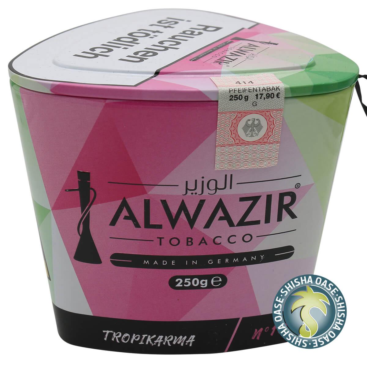 Al Wazir Tabak 250g Dose | Tropikarma No.10