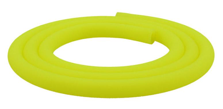Silikonschlauch Soft Touch Matt (Neon Gelb)