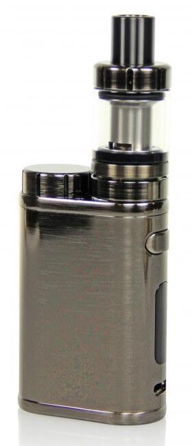 SC iStick Pico E-Zigaretten Set - gebürstetes Schwarz-Silber