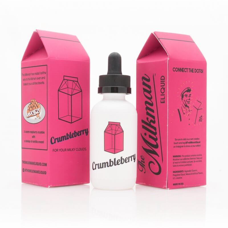 The Milkman - Crumbleberry 50ml - 0 mg/ml