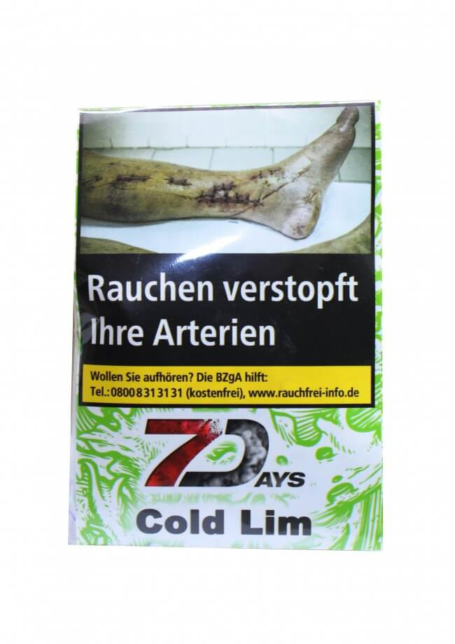7 Days Classic Tabak - Cold Lim 20g