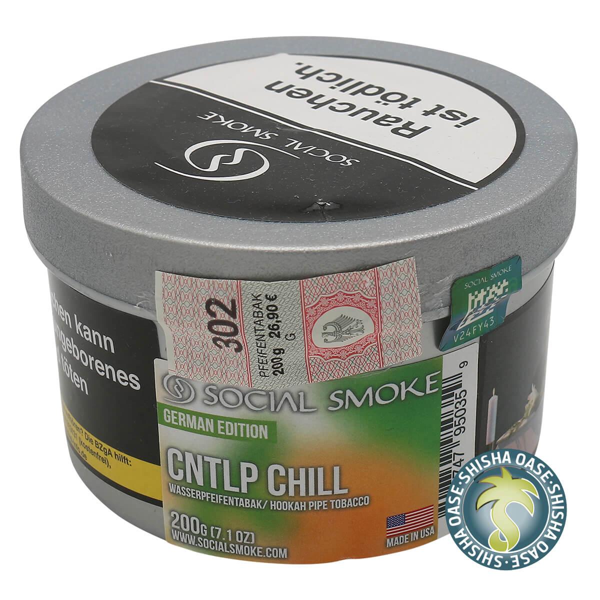 Social Smoke Tabak Cntlp Chill 200g Dose