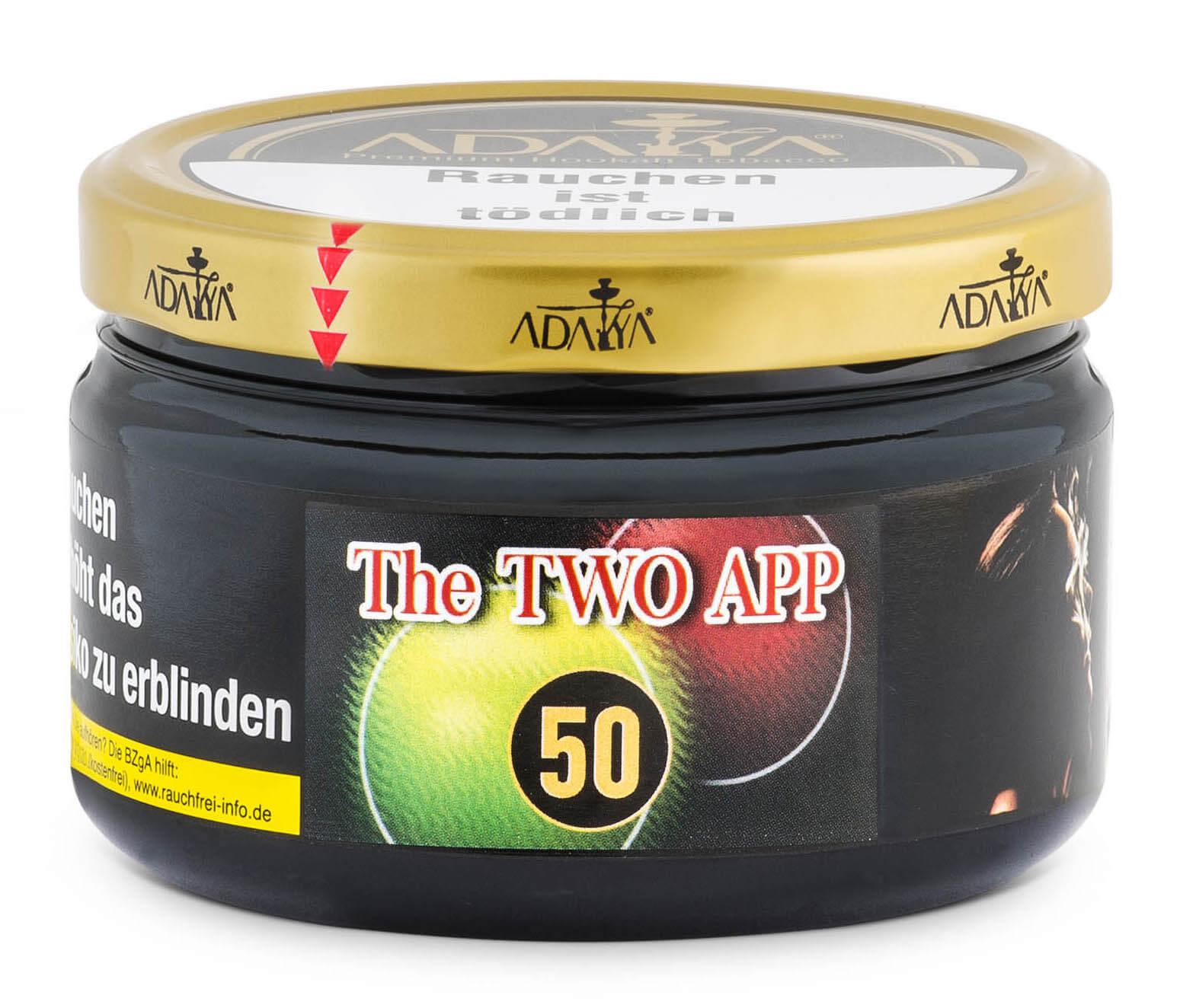 Adalya Tabak The Two App #50 200g