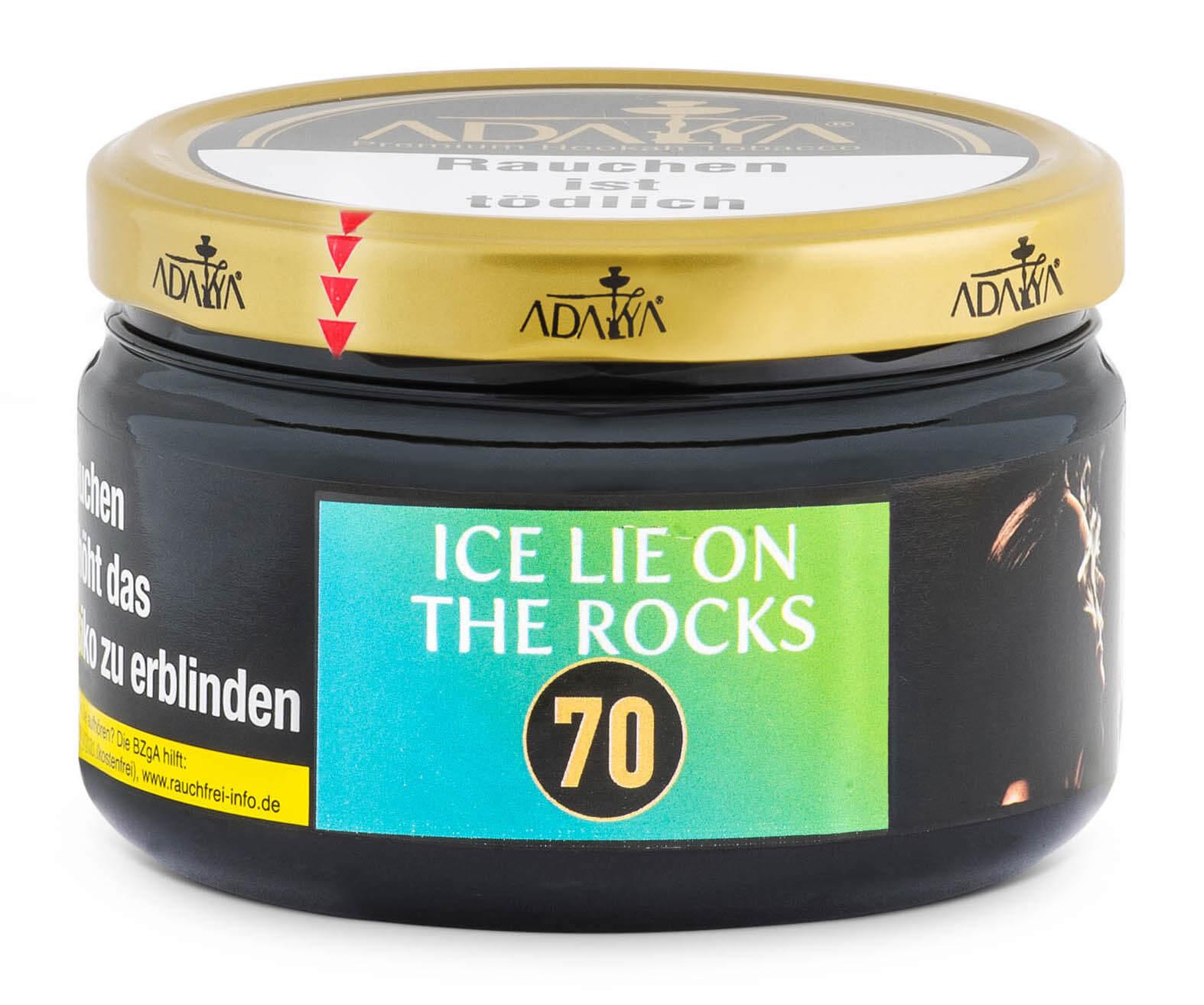 Adalya Tabak Ice Lie on the Rocks 200g Dose
