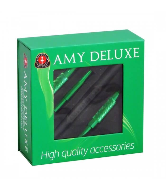 Amy Deluxe Schlauchset mit Mundstück S238 in Box - Grün