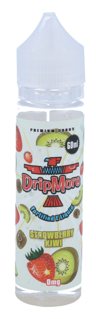DripMore - Strawberry Kiwi 50 ml - 0 mg/ml