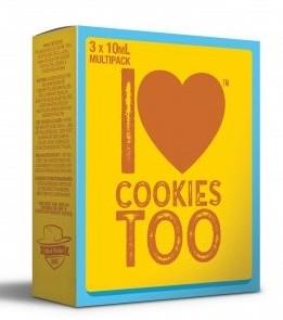 I Love Cookies too (3x10ml) - Mad Hatter Liquid - 6mg/ml