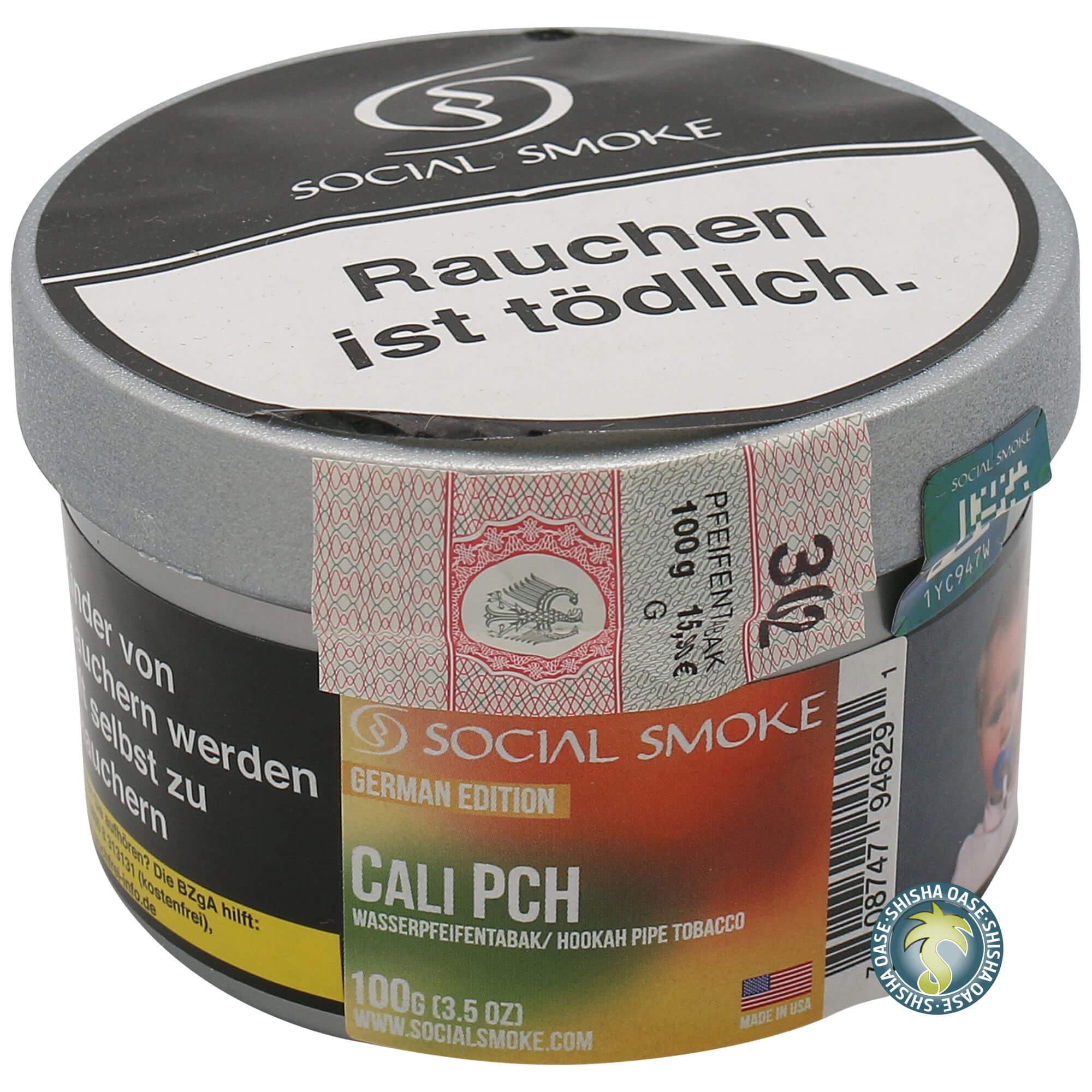 Social Smoke Tabak Cali Pch 100g Dose