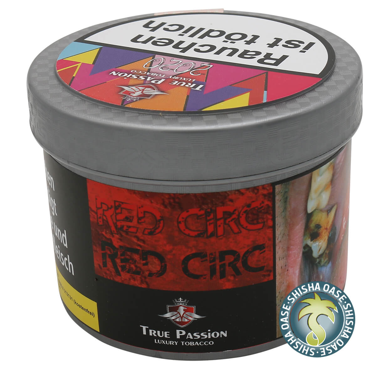 True Passion Tabak 200g Dose | Red Circ