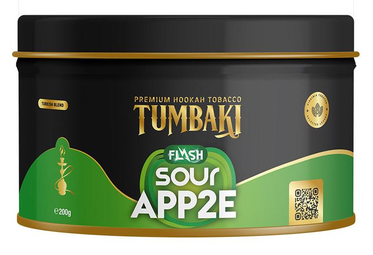 Tumbaki Tabak Sour App2e Flash 200g
